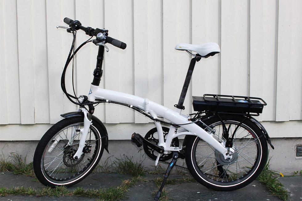 ペルテック 20 インチ 折り畳み 電動 アシスト 自転車