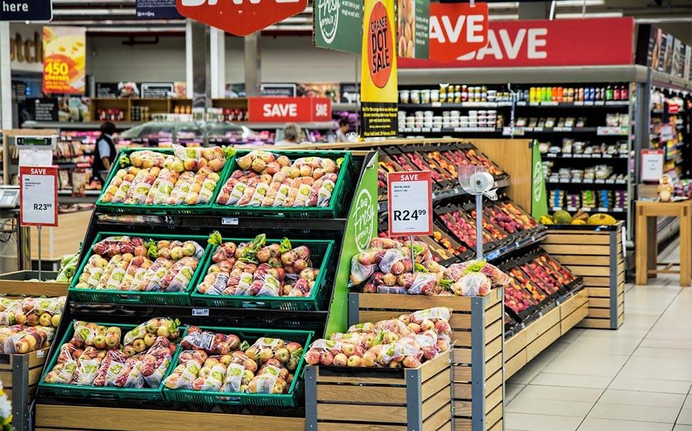 スーパーマーケットのイメージ