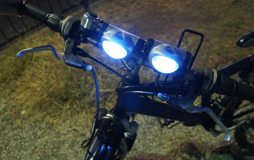 自転車ライトイメージ
