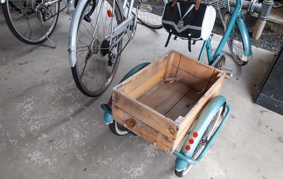三輪自転車のイメージ