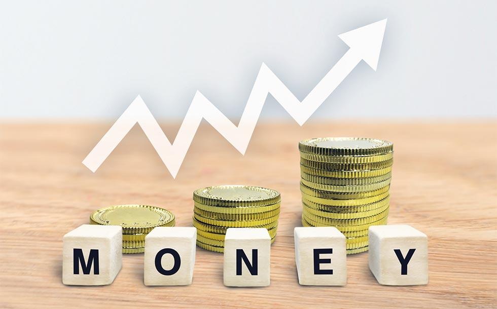 お金が増えるイメージ