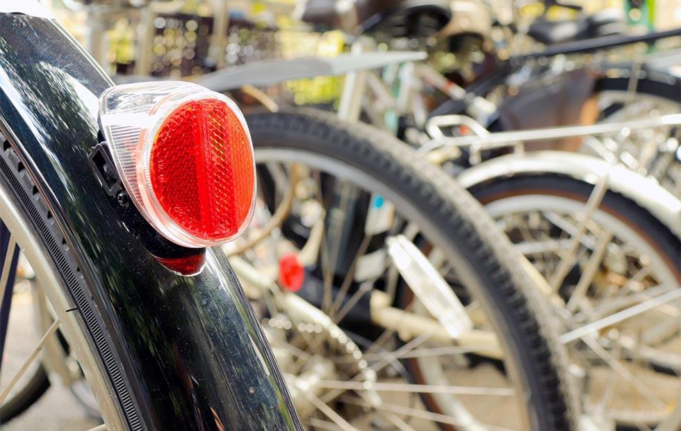自転車リフレクターのイメージ