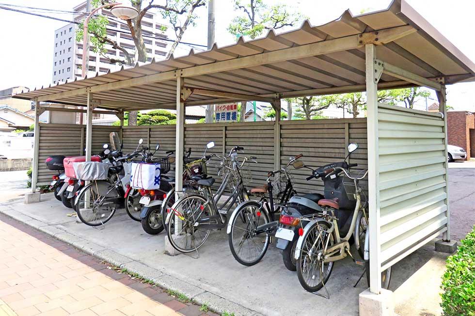 自転車置き場のイメージ