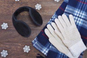 冬の手袋のイメージ