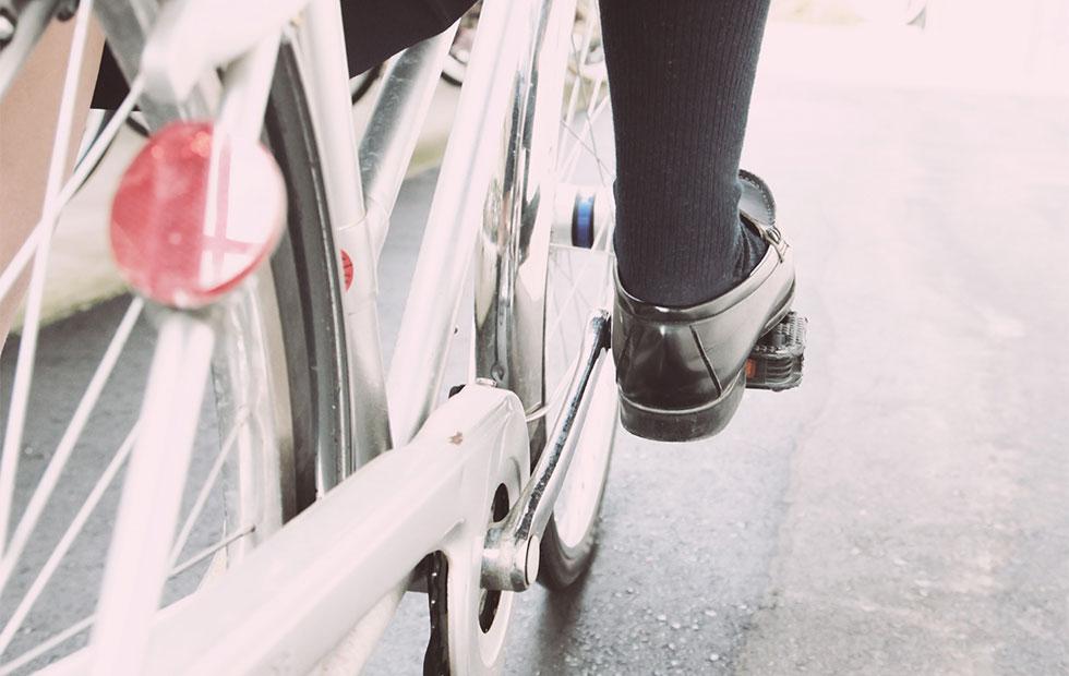 自転車通学のイメージ