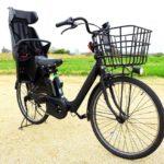 子供乗せ電動アシスト自転車のイメージ