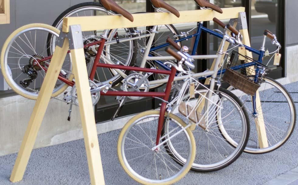 自転車スタンドのイメージ