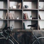 室内の自転車駐輪のイメージ