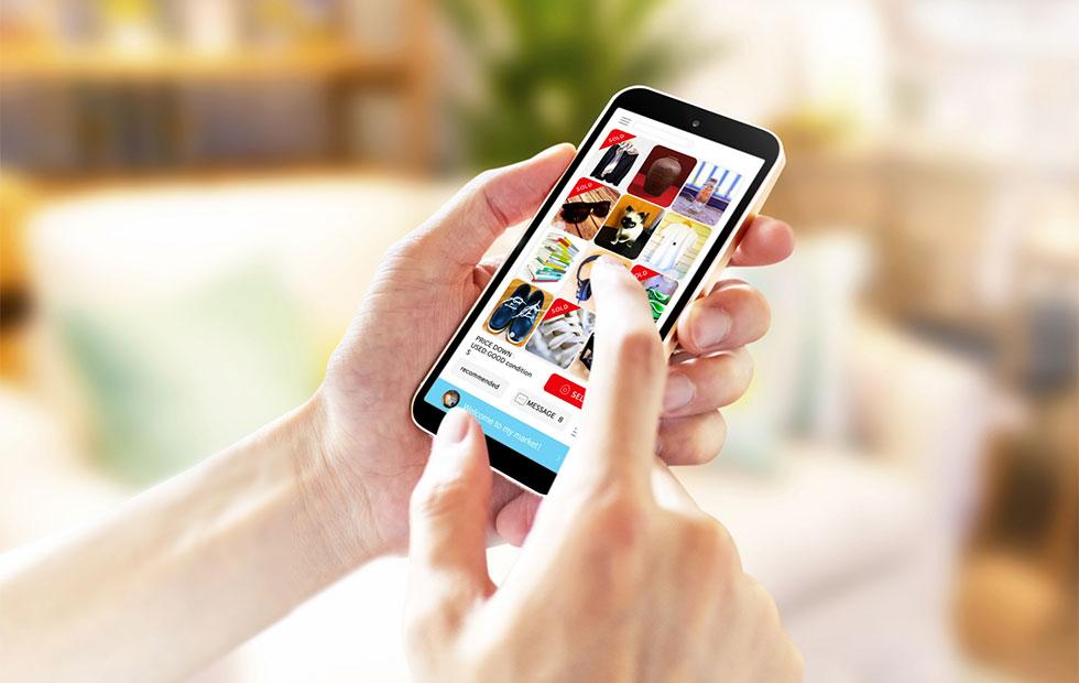 フリマアプリのイメージ