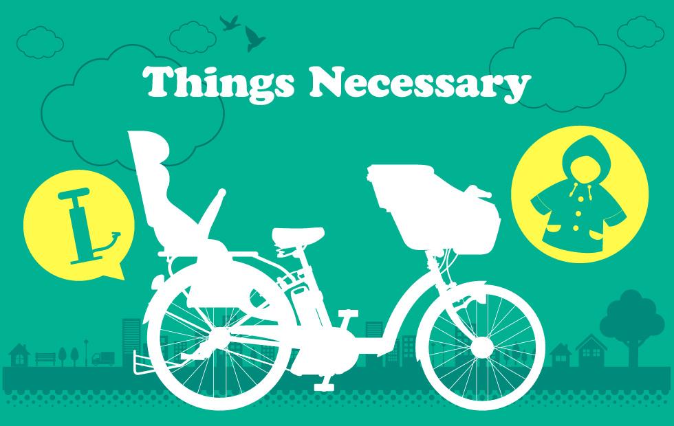 子供乗せ電動自転車のイメージ