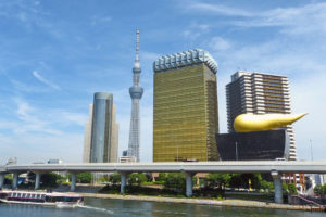 東京都のスカイツリーの風景